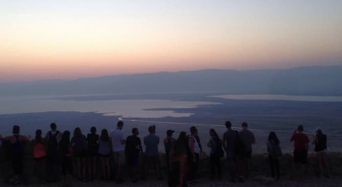 Climbing Masada With My Sons